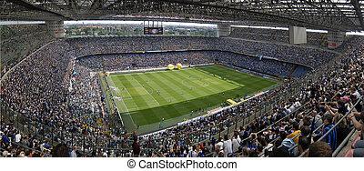 meazza, football, stade