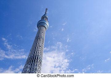 Tokyo Sky tree - Tokyo Sky Tree. It is the 634 meters TV...
