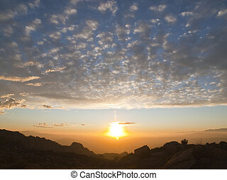 Simi Valley Sunset - Simi Valley sunset At the eastern edge...