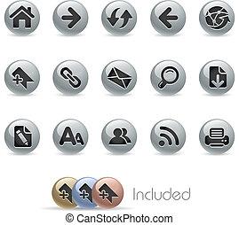 Web Navigation / Metallic