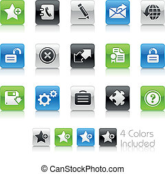 Web 2.0 / Clean - The EPS file includes 4 color versions for...