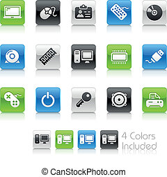 Computer & Devices / Clean - The EPS file includes 4 color...