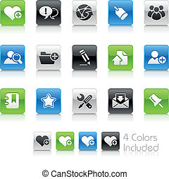 Blog & Internet / Clean - The EPS file includes 4 color...