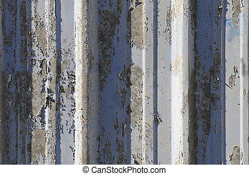 Large rusted sheet iron texture - Rusted sheet iron texture...
