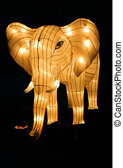 Elephant Lantern - Elephant at the Toronto Chinese Lantern...