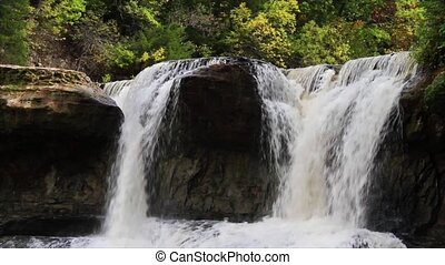 Upper Cataract Falls Loop - Indianas Upper Cataract Falls in...