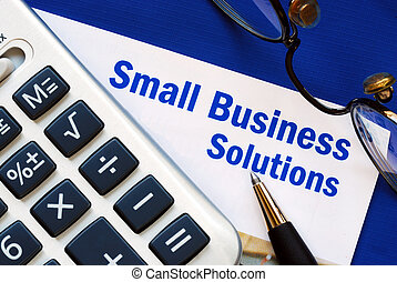 Small Business solutions - Provide financial solutions and...
