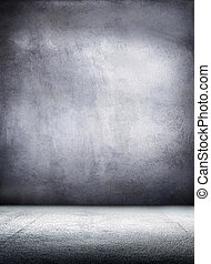 Grunge metal interior. Hi res background - Grunge metal...