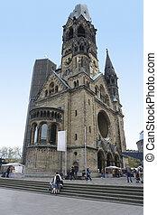 Kaiser Wilhelm Gedauml;chtniskirche - the Kaiser Wilhelm...