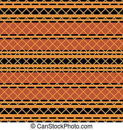 Native american seamless pattern in editable vector file