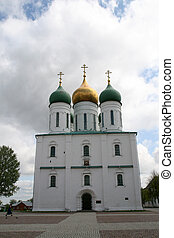 Uspensky cathderal in Kolomna Russia