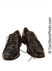 homme affaires, hommes, chaussures