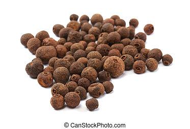 black pepper, black peppercorn, indian spice