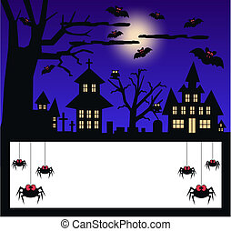 halloween invitation or celebration