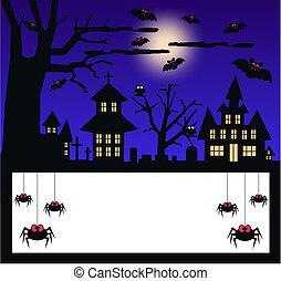 halloween invitation or celebration