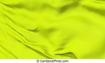 Rippled Yellow Fabric Background