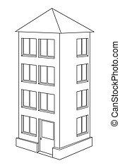 House contour.