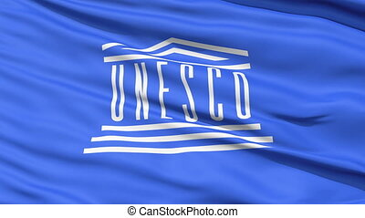 UNESCO Waving Flag - Waving Flag of the United Nations...