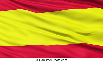 Waving Flag of Spain Spanish: La Bandera de Espana,seamless...