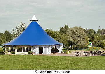 Large tent for celebrations