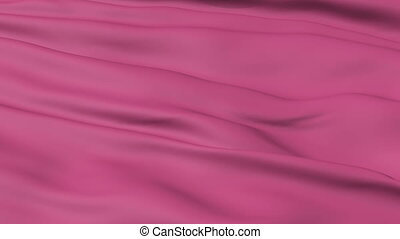 Hot Pink Fabric Texture - A background texture of hot pink...