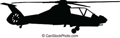 comanche - Vector illustration of comanche helicopter...
