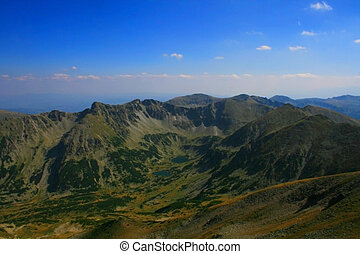 Rila Mountains - Maritsa valey in Rila mountains, Bulgaria