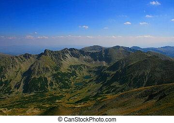 Rila Mountains - Maritsa valey in Rila mountains, Bulgaria