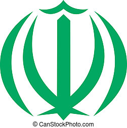 Iran - Vector coat of arms of Iran