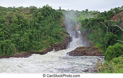Murchison Falls in Africa