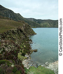 Acores seaside scenery - idyllic seaside scenery at S