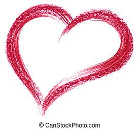 Coração, Creiom, vermelho