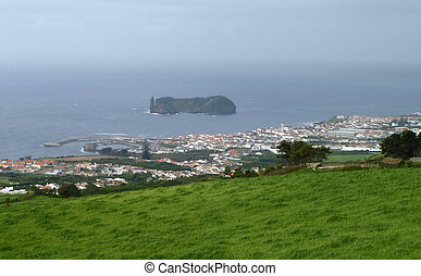 coastal scenery at the Azores - coastal scenery at S