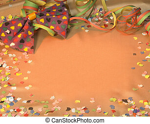 carnival scenery - colorful symbolic carnival and party...