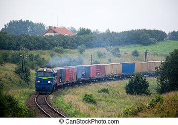 train, paysage