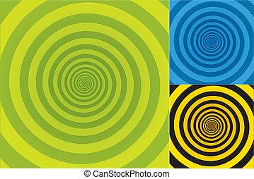 Spiral background Pattern - ackground texture in three...