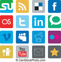 share icons pack - social bookmarks icons pack