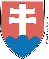 Slovakia - Vector coat of arms of slovakia