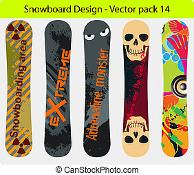 snowboard design pack 14