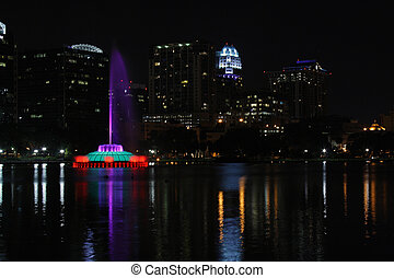 Downtown Orlando, Florida, at Night (6)