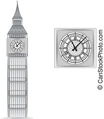 Big Ben vector illustration