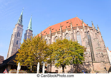 St Sebaldus Church in Nuremberg, G - St Sebaldus Church is a...