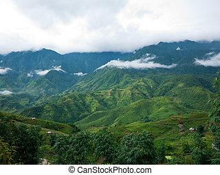 Sapa Valley in Vietnam