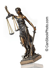 Lady Themis - Judiciary. Lady Themis is a symbol of justice.