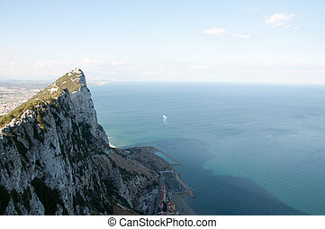 Rock of Gibraltar - Picture taken from the top of the Rock...