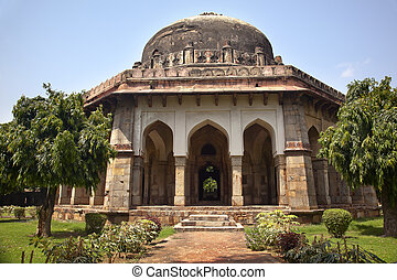 Sikandar Lodi Tomb Gardens New Delhi India - Large Ancient...
