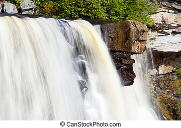 Blackwater Falls in Autumn - Blackwater falls in West...