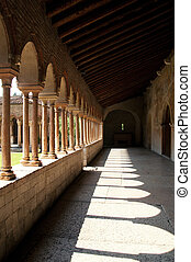 Verona - Internal cloister of the San Zeno Church