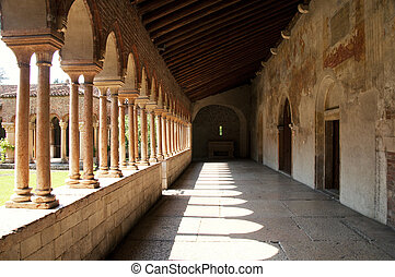 Verona - Internal Cloister of San Zeno Church