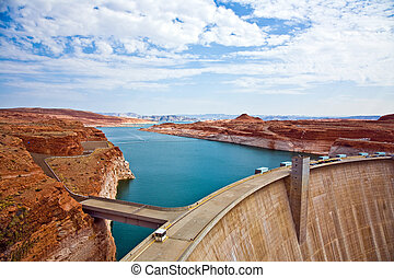Glen Canyon Dam in Page is delivering power for the whole...